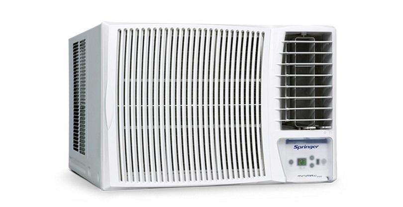 ar condicionado janela parede springer