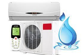 ar condicionado split vazando água